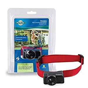 PetSafe Wireless Pet Containment System Receiver Collar Only for Dogs and Cats Over 5 lb., Waterproof with Tone and… Click on image for further info.