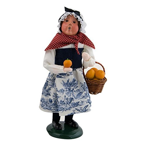 Byers' Choice Ltd. Girl with Oranges #4322D