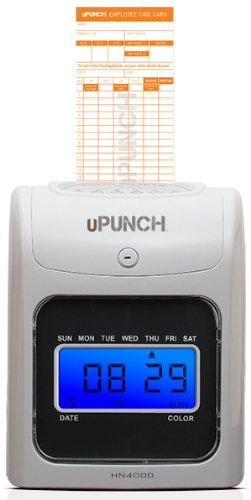 upunch hn4000 electronic time clock - Upunch Time Cards