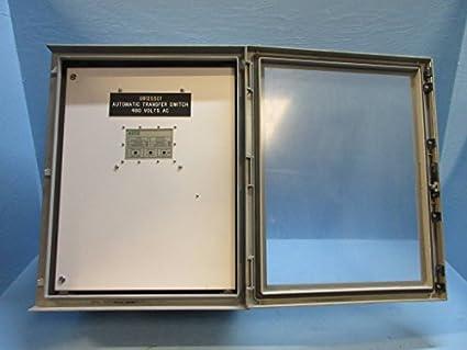 Asco a300310491 C 104 Amp 480 V Serie 300 Automático Interruptor de transferencia 3P 104 A: Amazon.es: Amazon.es