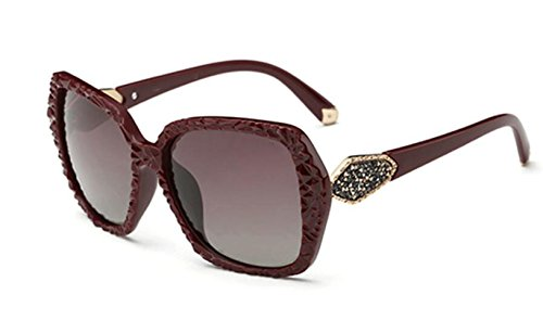 Fashion Gafas Shopping Sunglasses Beach Travel Sol De Redwine Lady wqqtfZ