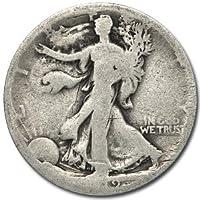 1919 S Walking Liberty Half Dollar AG Half Dollar About Good