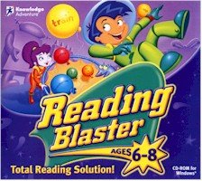 New Knowledge Adventure Reading Blaster Ages 6-8 Compatible With Windows - Reading Knowledge Adventure Blaster