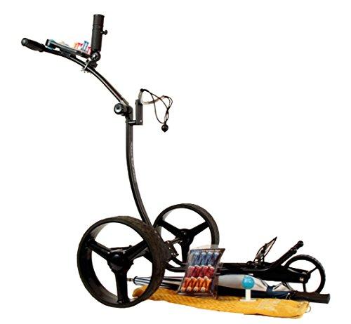 Yorrx® Slim Lion Pro 5 PLUS (schwarz/black) 2016 Golftrolley/Golfwagen/Golf Cart