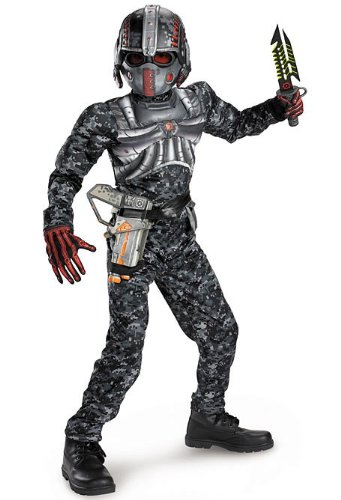 (Recon Commando Classic Muscle Child Costume -)