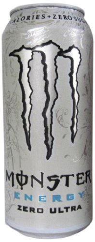 Monster Energy Drink, zéro Ultra, 16 onces (Pack de 24)