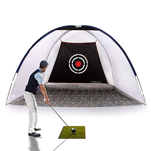 Galileo Golf Net Golf Hitting Nets Training Aids Practice Nets for Backyard Driving Range Chipping Net with Target Carry Bag Outdoor Sports
