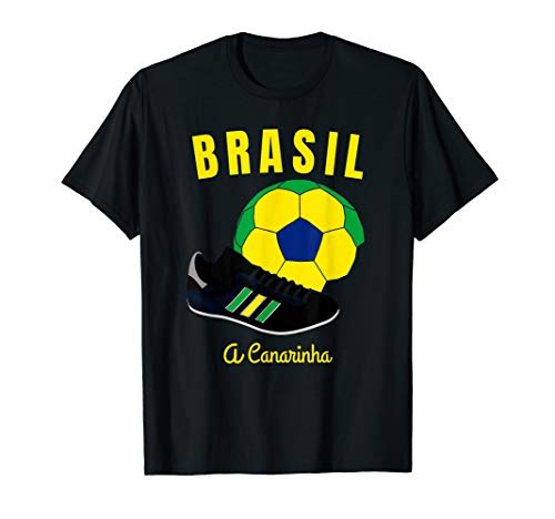 (Soccer Brasil Flag T-Shirt Brazil Flags Football Jersey Tee)