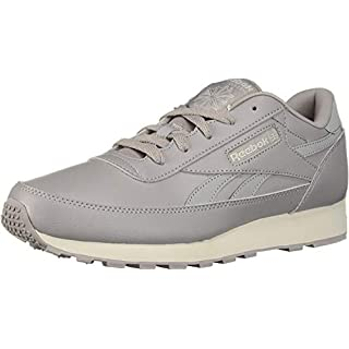 Reebok Men's Classic Renaissance Walking Shoe, USA-Powder Grey/Skull Grey, 5.5 M US