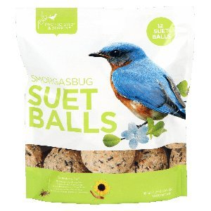 12 Assorted Suet Balls from Pacific Bird - Smorgasbug and Insect & Hot - Ball Make Suet