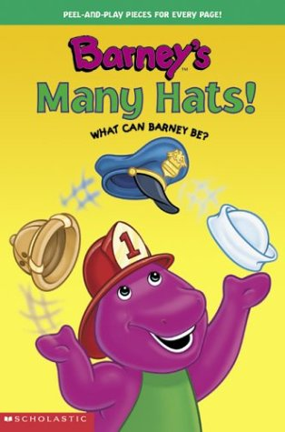 Barney's Many Hats! What Can Barney Be?