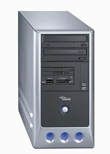 Fujitsu Scaleo P ordenador de sobremesa (Intel Pentium 4 3,0 gHz HT, 2 x 512 MB de memoria RAM, 200 GB, ATI X300SE 128 MB/PCIe TV-out, DVD + / - RW/DL, DVB-T PAL, XP Home)