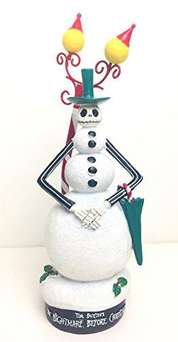 Fiberglass Snowman - Nightmare Before Christmas The Jack Skellington Snowman Figurine Statue