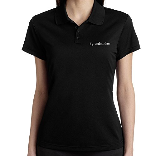 Teeburon Grandmother Hashtag - Polo Femme