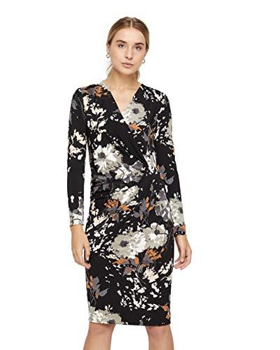 Fillucca Medium Kleid Drape InWear Damen Schwarz SwfzzqB