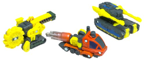 Tranformers Armada 076930807132 and Dualor Buzzsaw Drill Bit