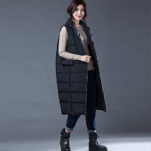 Cappotto Freddi D'Oca Casual Ideale Donna Piuma in Coat Climi Gilet in WUYEA Warm Lungo Giacche da ZqU001