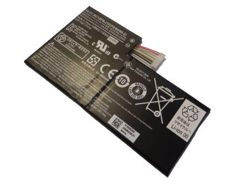 vhbw Akku 5340mAh (3.7V) für Netbook Pad Tablet Acer Iconia Tab A1-A810 Tablet wie AC13F3L, AC13F8L.