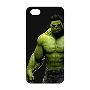 Ultra Thin 3D Case Cover hot toys hulk Phone Case for iPhone 5s