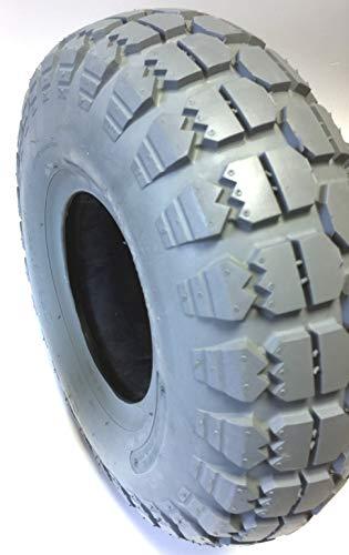 Silla Neumáticos 5.30/4.50 - 6, 4 PR, Gris, bloque perfil para Meyra elektromobil, Scooter: Amazon.es: Coche y moto