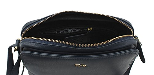 Navy Organiser Tula Cross ORIGINALS NAPPA Zip Shoulder Tulip Body 2 Leather Bag Top 8376 W4UW7cn