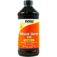 NOW Wheat Germ Oil, 16-Ounce