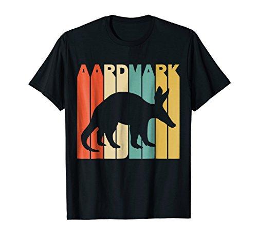 Vintage Style Aardvark Silhouette - Aardvark T-shirt