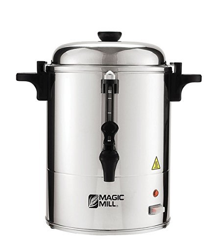 (Magic Mill MUR150 Stainless Steel Hot Water Urn - 150 Cups)