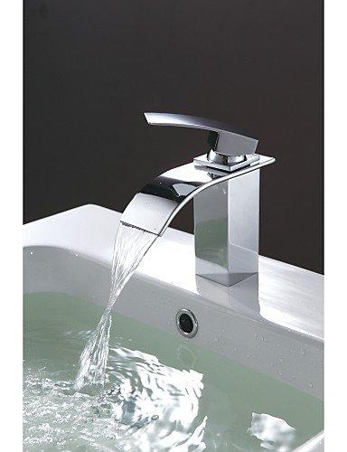 einzigen Handgriff WasserfaÖl Toilette-Bassin-Wannen-Hahn-Chrom-