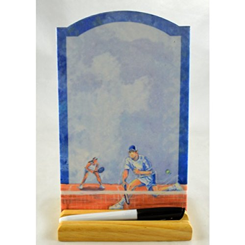 Blue Sky Tennis Theme Color Memo Board