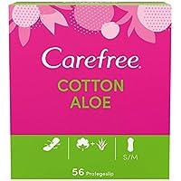 Carefree Salvaslip Cotton Aloe 56 unidades 150 g