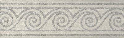 Brewster 408-82851 Paint Plus III Kanagawa Paintable Swirl And Stripe Paintable Border Wallpaper