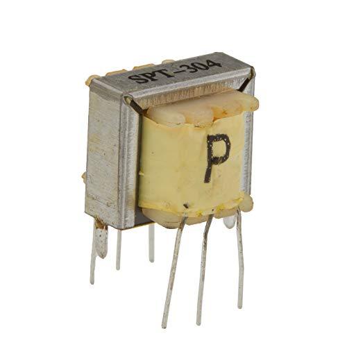 EI-16 Audio Transformer, 5 pcs/Pack, 500:500 Ohm Impedance, Isolation Interstage XFMR