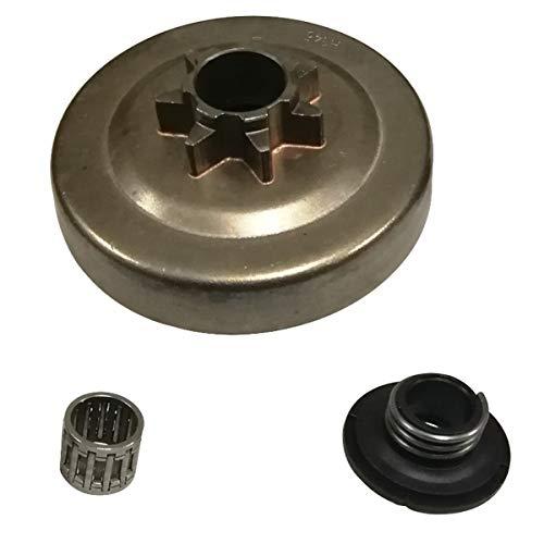 Clutch Drum Sprocket Bearing Worm Gear for Husqvarna 340 345 350 445 445E 450 450E Chainsaw .325