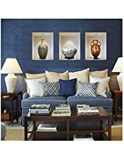 Waterproof PVC Ceramic Vase Vinyl 3D Wall Stickers Wall Decals DIY Home Decoration for Living Room Adesivo de Parede Posters Hoem Decor Wall Sticker-s
