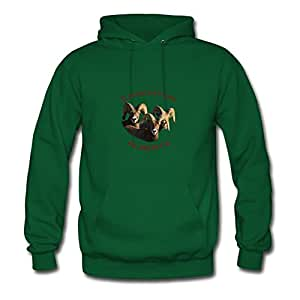 Customizable Off-the-record Edmonton, Canada Cool Hoody In Green Women Cotton X-large