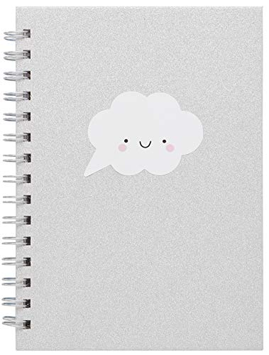 LaurDIY Sparkle Kawaii Collection Cute Notebooks for School, 160 Ruled Pages ()