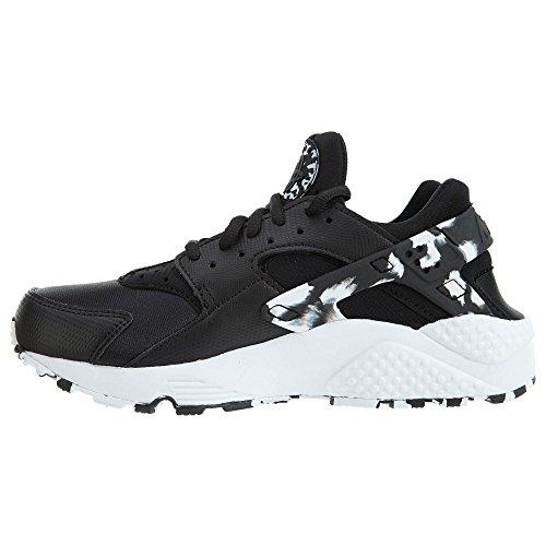 Donna Air Se Pelle Sneakers Nike Wmns Run Huarache Nero O7HwnqC