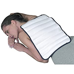 "TheraBeads Microwavable Heating Pad for Back and Shoulders - 12"" x 16"""