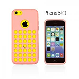 OnlineBestDigital - Colorful Outer Case for Apple iPhone 5C - Pink
