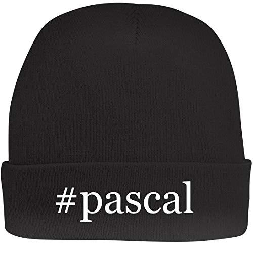 Shirt Me Up #Pascal - A Nice Hashtag Beanie Cap, Black, OSFA