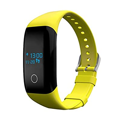 Sinma Yellow Multi Motion Modes Wristband Fitness Smart Bracelet
