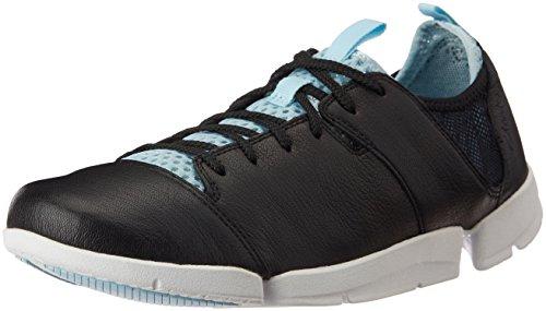Tri 37 Tama En Mujer Piel Active Casual O Clarks Zapatos Negro 8OkwnP0X