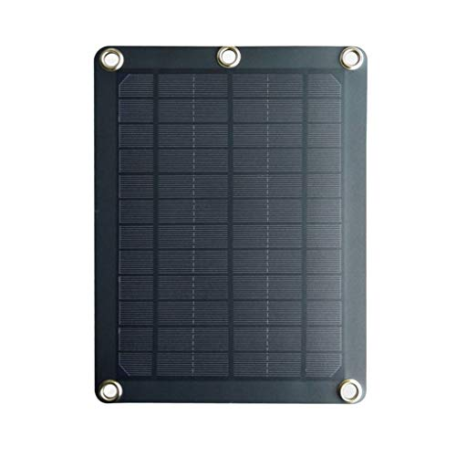 Wrea 5W 5V 1A Solar Panel Mobile Phone Power Bank Outdoor Charge Tablet Charger Portable Backpack USB Sunpower