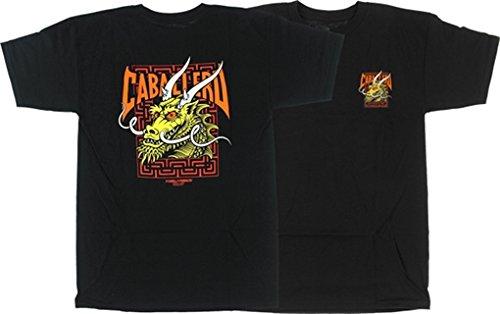 Powell Peralta Steve Caballero Street Dragon Black T-Shirt - Large