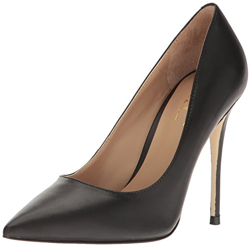 Nicole Miller Women's Maison Dress Pump, Black Nappa, 7.5 M US Nicole Shoes Com