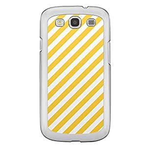 Loud Universe Samsung Galaxy S3 05 Transparent Edge Case - Yellow/White