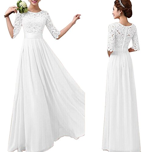 White Formal Gown - 6