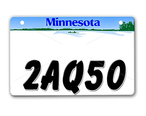 onestopairbrushshop ATV License Plate - License Plate Attachment Kit