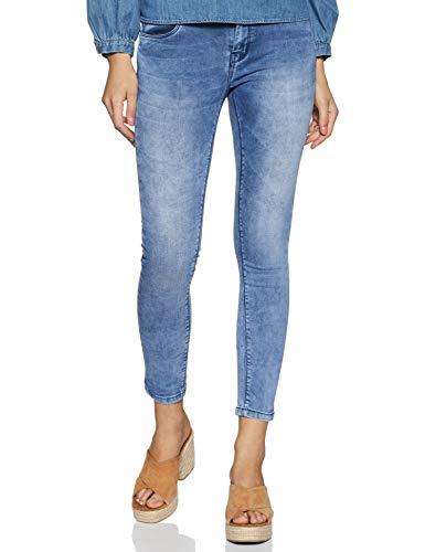 EASYBUY Women's Fashion Bottom Slim Jeans